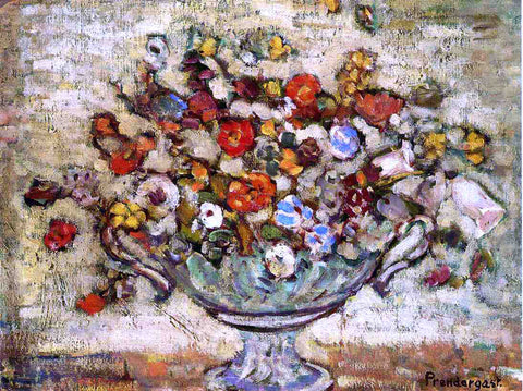 Maurice Prendergast Floral Still Life - Hand Painted Oil Painting