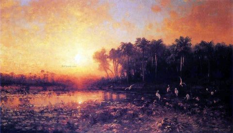 George Herbert McCord Florida Sunrise - Hand Painted Oil Painting