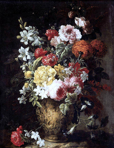 The Younger Gaspar Pieter Verbruggen Flower Piece - Hand Painted Oil Painting