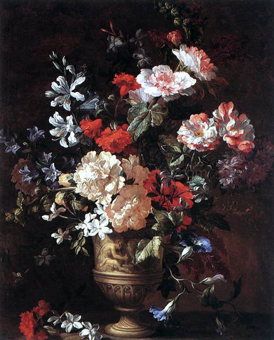 Jan-Baptist Bosschaert Flower Piece - Hand Painted Oil Painting
