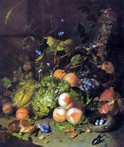 Rachel Ruysch Flower Still-Life - Hand Painted Oil Painting