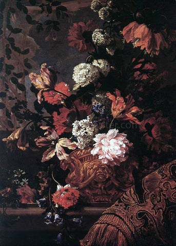 Jean-Baptiste Monnoyer Flowers - Hand Painted Oil Painting