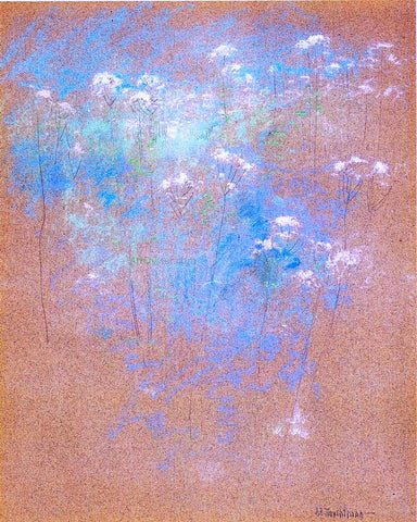 John Twachtman Flowers - Hand Painted Oil Painting