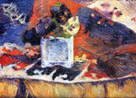 Paul Gauguin Flowers and Carpet (also known as Pansies) - Hand Painted Oil Painting