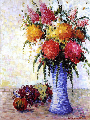 Lucie Cousturier Flowers and Fruit - Hand Painted Oil Painting