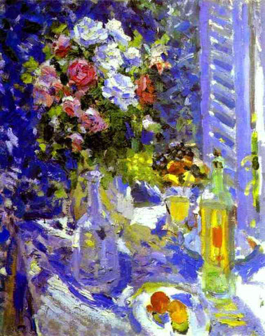 Constantin Alexeevich Korovin Flowers and Fruit - Hand Painted Oil Painting