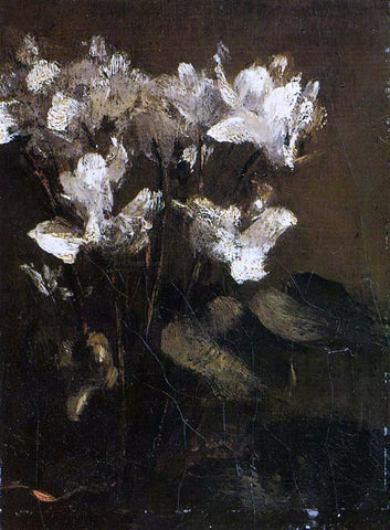 Henri Fantin-Latour Flowers, Cyclamens - Hand Painted Oil Painting
