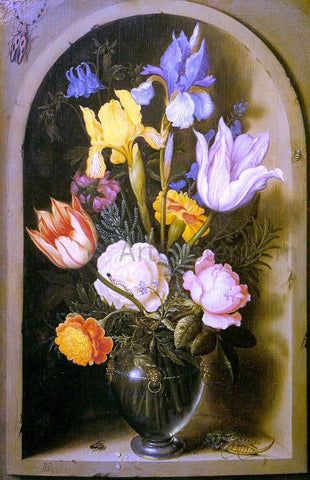 The Elder Ambrosius Bosschaert Flowers - Hand Painted Oil Painting