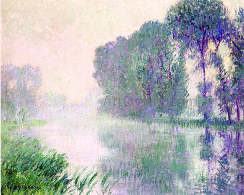 Gustave Loiseau Fog, Morning Effect - Hand Painted Oil Painting