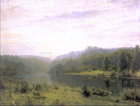 Ivan Ivanovich Shishkin Foggy Morning - Hand Painted Oil Painting