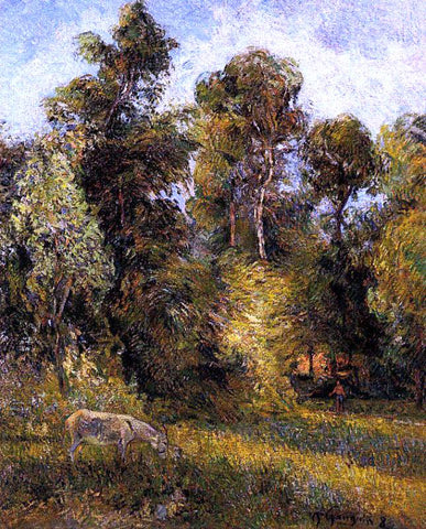 Paul Gauguin Forest Edge - Hand Painted Oil Painting