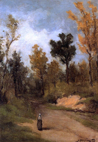 Paul Gauguin Forest Path - Hand Painted Oil Painting