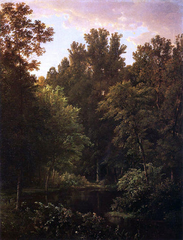 William Trost Richards Forest Pool - Hand Painted Oil Painting
