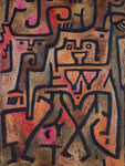 Paul Klee Forest Witch - Hand Painted Oil Painting