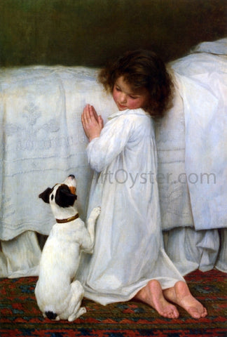 William Henry Gore Forgive Us Our Trespasses - Hand Painted Oil Painting