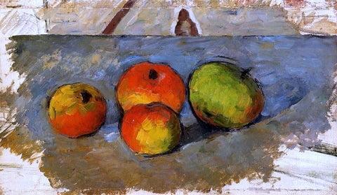 Paul Cezanne Four Apples - Hand Painted Oil Painting