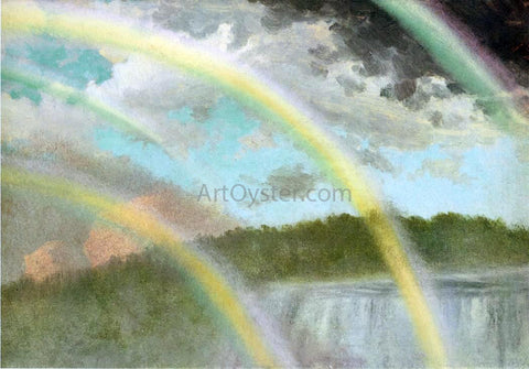 Albert Bierstadt Four Rainbows Over Niagara Falls - Hand Painted Oil Painting
