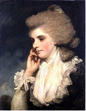 Sir Joshua Reynolds Frances, Countess of Lincoln - Hand Painted Oil Painting
