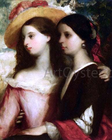 William Etty Friends - Hand Painted Oil Painting