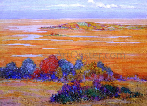 Arthur Wesley Dow From Bayberry Hill - Hand Painted Oil Painting