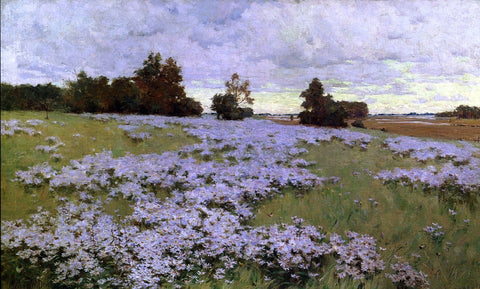 Arthur Wesley Dow Frost Flowers, Ipswich, Massachusetts - Hand Painted Oil Painting