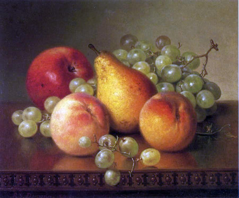 Robert Spear Dunning Fruit Still Life - Hand Painted Oil Painting