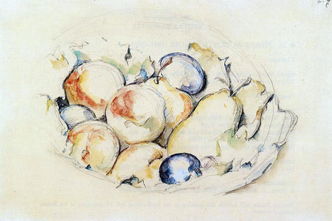 Paul Cezanne Fruits - Hand Painted Oil Painting