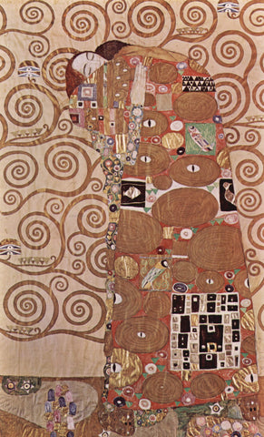 Gustav Klimt Fulfillment - Hand Painted Oil Painting