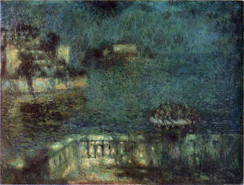 Henri Le Sidaner Full Moon - Hand Painted Oil Painting