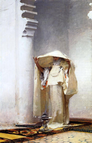 John Singer Sargent Fumee d'ambre gris - Hand Painted Oil Painting