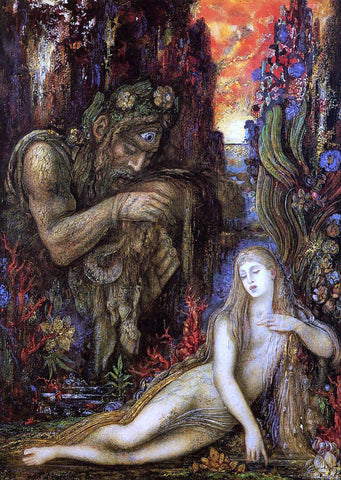 Gustave Moreau Galatea - Hand Painted Oil Painting