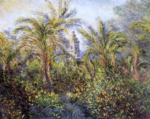 Claude Oscar Monet Garden in Bordighera, Morning Effect - Hand Painted Oil Painting