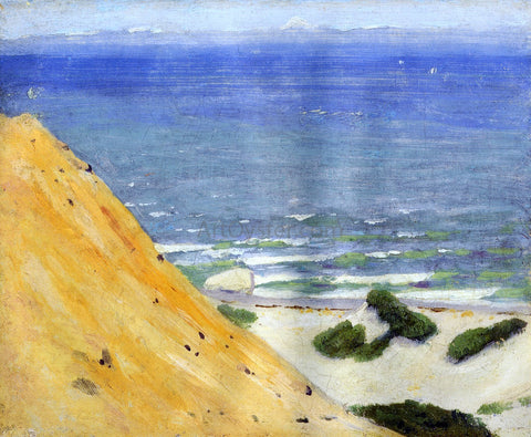 Arthur Wesley Dow Chalk Hills, Gay Head - Hand Painted Oil Painting