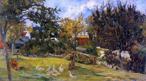 Paul Gauguin Geese in the Meadow - Hand Painted Oil Painting