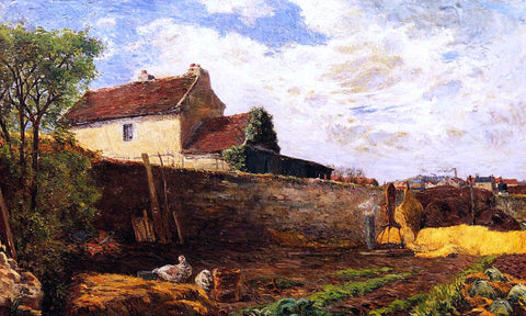 Paul Gauguin Geese on the Farm - Hand Painted Oil Painting
