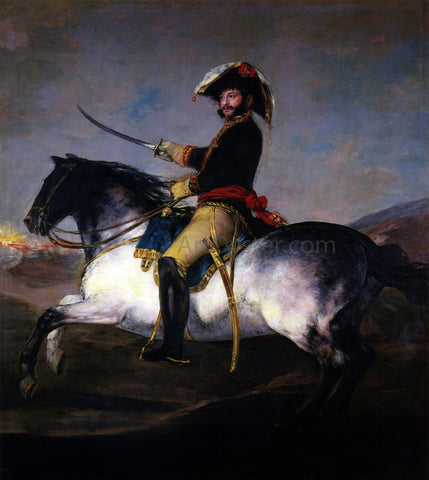 Francisco Jose de Goya Y Lucientes General Jose de Palafox - Hand Painted Oil Painting