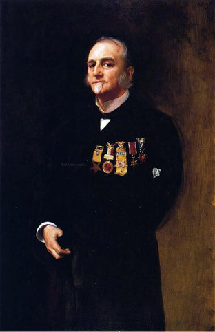 John Singer Sargent General Lucius Fairchild - Hand Painted Oil Painting