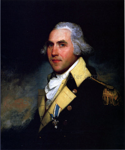 Gilbert Stuart General Peter Gansevoort - Hand Painted Oil Painting