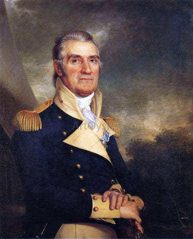 Rembrandt Peale General Samuel Smith - Hand Painted Oil Painting