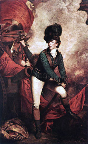 Sir Joshua Reynolds General Sir Banastre Tarleton - Hand Painted Oil Painting