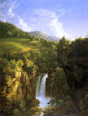 Thomas Cole Genesee Scenery (also known as Poop) - Hand Painted Oil Painting