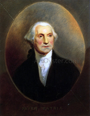 Alfred Jacob Miller George Washington - Hand Painted Oil Painting
