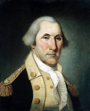 Charles Peale Polk George Washington - Hand Painted Oil Painting