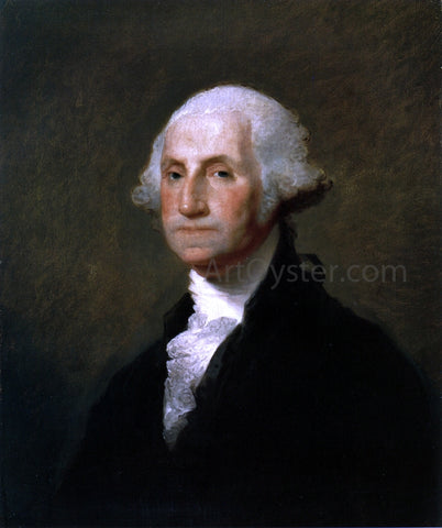Gilbert Stuart George Washington - Hand Painted Oil Painting