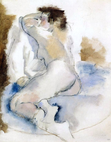 Jules Pascin Germaine - Hand Painted Oil Painting
