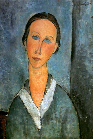 Amedeo Modigliani Girl in a Sailor's Blouse - Hand Painted Oil Painting