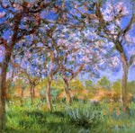 Claude Oscar Monet Giverny in Springtime - Hand Painted Oil Painting