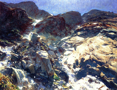John Singer Sargent Glacier Streams - Hand Painted Oil Painting