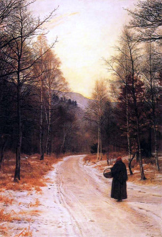 Sir Everett Millais Glen Birnam - Hand Painted Oil Painting