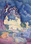 Henri Edmond Cross Goats - Hand Painted Oil Painting